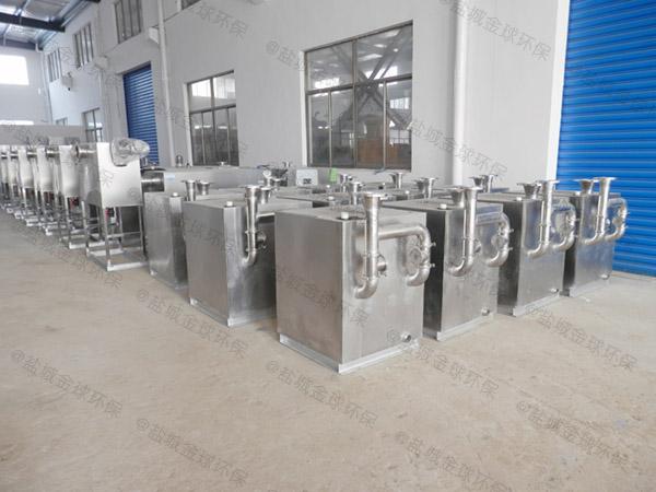 生活自動油水處理設備CAD圖紙