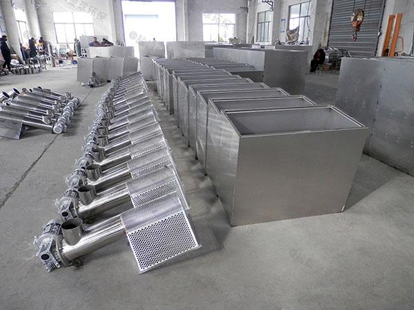 自動刮油單位食堂油水分離提升設備效果