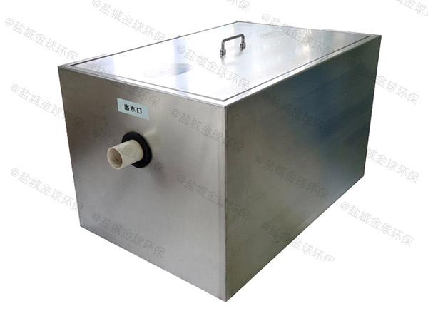 商用密閉式油水渣分離機的結構
