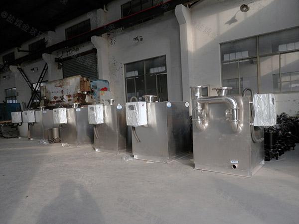 無動力單位食堂一體隔油提升設備直銷