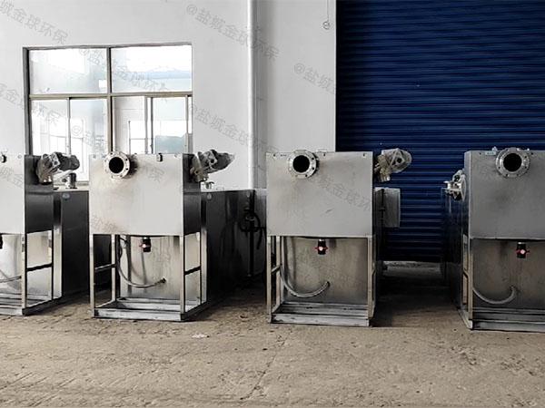 餐飲類智能油水過濾分離器常見問題