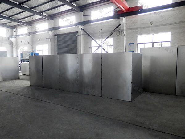 移動式小區下水隔油設備有效容積