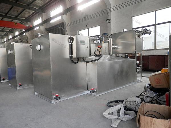 全自動工廠食堂油水分離提升設備樣品
