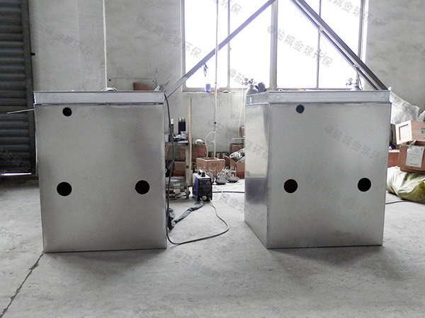 自動化火鍋專用隔油提升裝置施工工藝