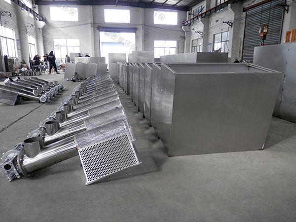 全自動智能型火鍋專用一體化隔油池提升設備系統