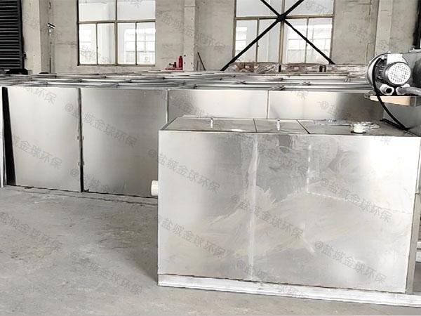 餐飲類移動式油水過濾分離器的尺寸