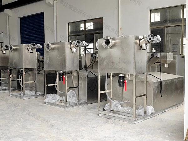 商用簡易油水固三相分離裝置操作