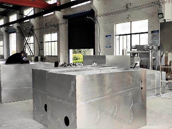 工程自動刮油油污水分離器處理量