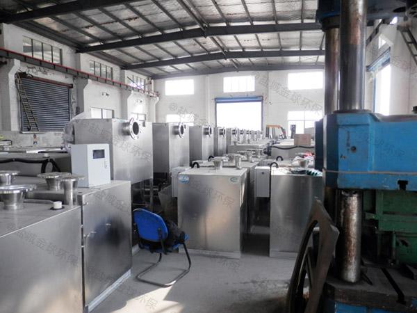 火鍋自動化油污水分離器操作規程