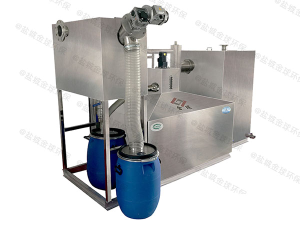 火鍋店智能油水渣分離設備安裝步驟