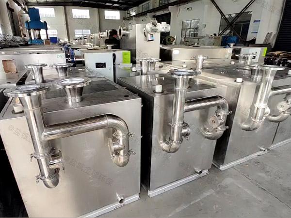 生活簡易油水分離與處理設備的構造