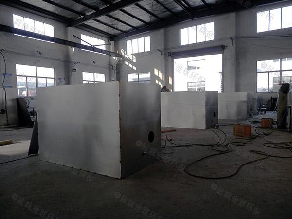 分體式火鍋店油水處理設備效果