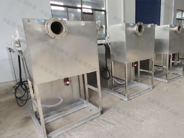 工地地埋油水分離與處理設備的去除效率