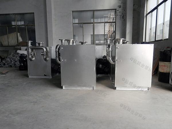 自動提升商場油水分離提升設備示意圖