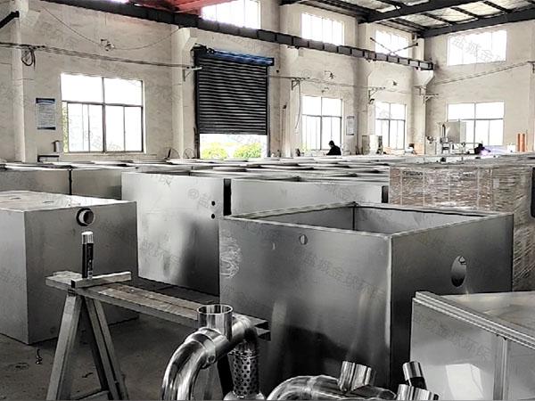工廠食堂智能化油污水分離裝置改造廠家