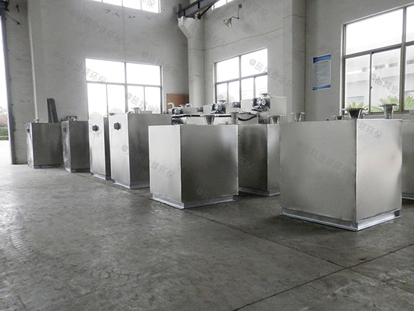 购物中心埋地自动油水处理设备直产厂家
