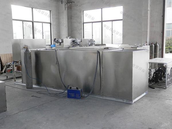 餐饮环保大型地埋式移动油水分离器隔渣池在哪个位置