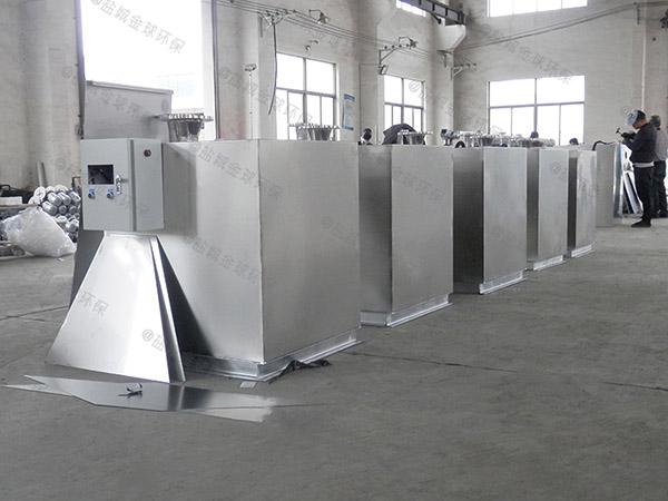 火锅店大型地埋式智能型油水分离一体化设备功能