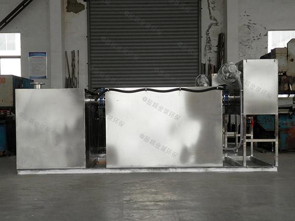 火锅地下室大智能化油水分离隔油器安装
