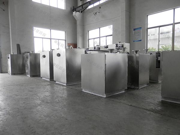 餐饮商户地上式大型简易排污油水分离器造价