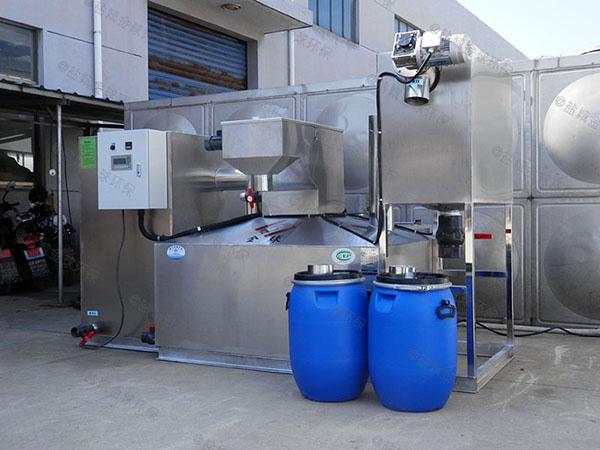 餐厨室外多功能油水分离池标准
