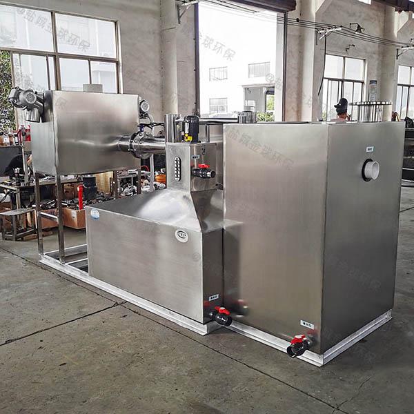 厨余大型地上自动除渣隔油处理器规格
