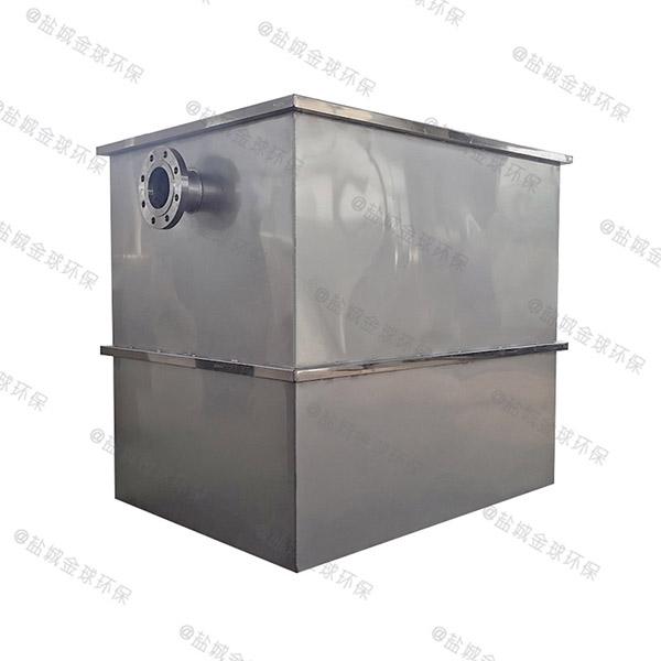 中餐大型组合式隔油除渣一体化设备行业标准