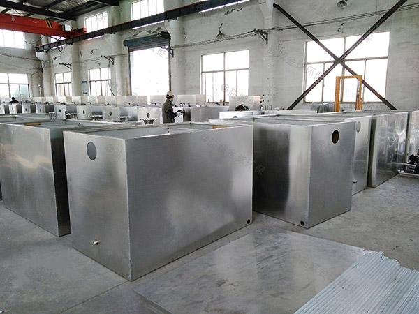 厨房地下室大型分体式排水隔油器的用途是什么