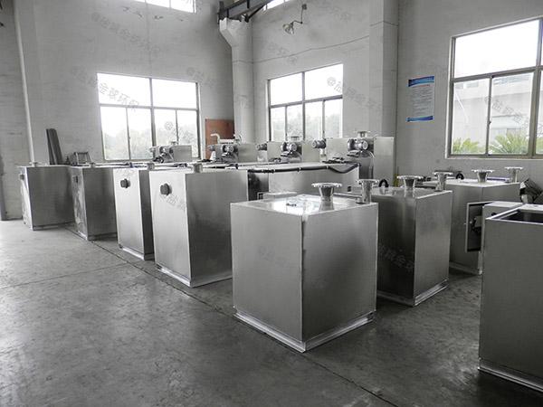 餐饮业地上式机械油水分离机的优点