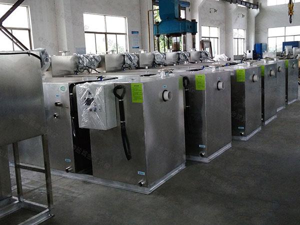 工厂食堂大地面全能型油水渣分离设备是哪个