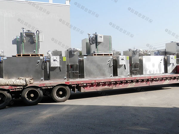 商城大地面式分體式隔油器提升設備處理效率