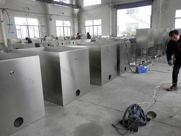 火锅大型地面式自动刮油隔油提升一体化装置安装位置