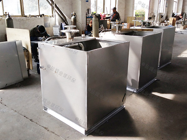 厨用地埋智能型不锈钢隔油池求购