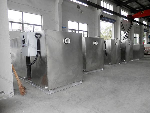 餐饮行业大型地埋无动力隔油污水提升设备哪种好