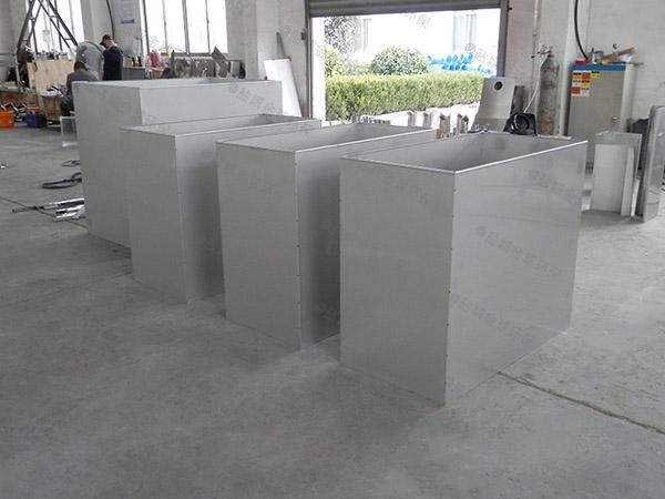 火锅专用大型地面式自动隔油池提升设备型号选择