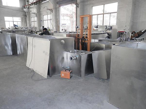 单位食堂地下自动刮油油水分离器和隔油池的用途是什么