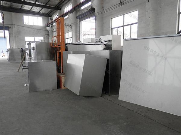 工厂食堂埋地式大型半自动水处理油水分离器是什么