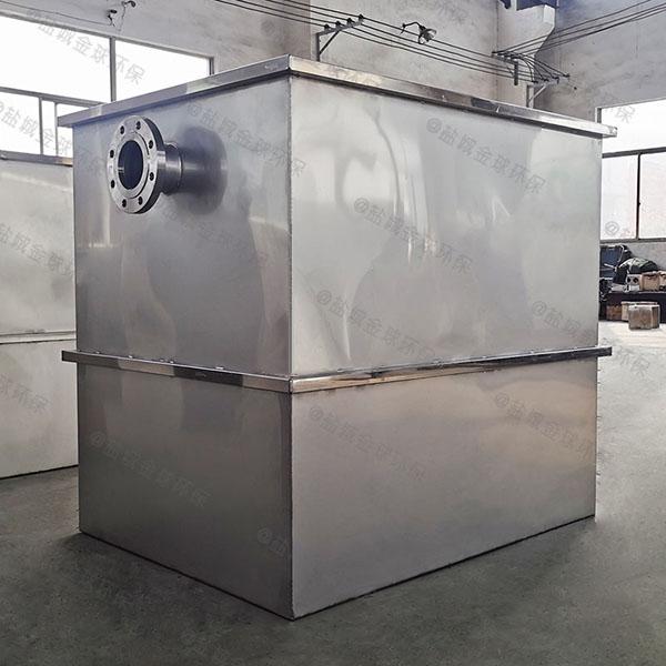 厨下型中小型地下式简单一体化隔油池处理设备哪里能买到