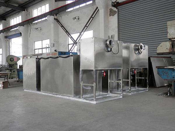 食堂用地埋式大自动排水成品隔油器如何使用