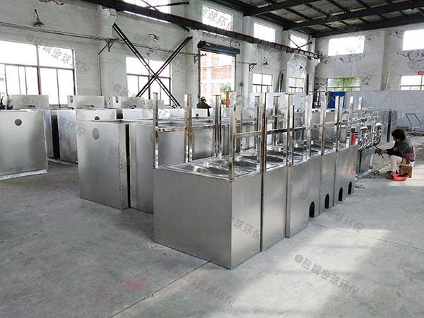 餐饮环保大型地面式分体式隔油污水提升设备如何选择