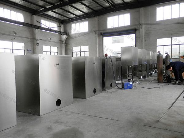 火鍋專用大地下式自動化氣浮隔油池改造