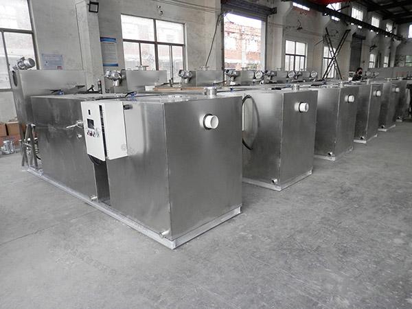 商场大全能型隔油池隔油器合格证