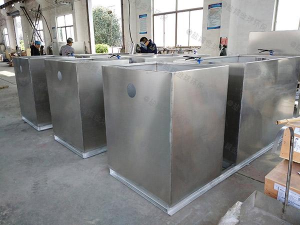 学校中小型地面多功能下水隔油池的规格