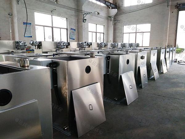 商业中小型自动化隔油除渣设备检验