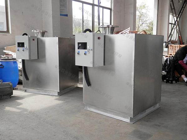 商用地面式中小型自动提升成品隔油处理器批发价