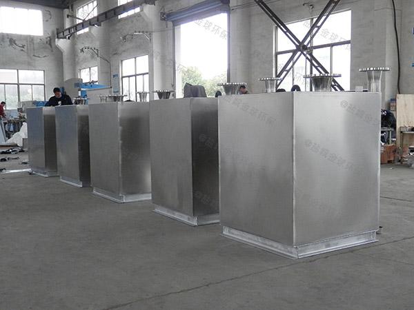 食堂用大地埋自动排水一体化隔油污水提升设备内部结构