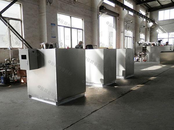 厨用地上式中小型自动排水隔油过滤设备供应商