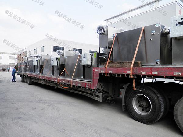 商业地上式大全能型一体化隔油提升装置厂家