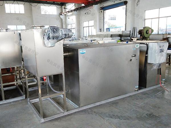 厨房用大型地上全能型油水分离器隔渣池销售