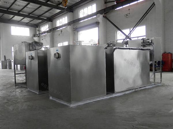 厨房用地面式自动除渣三级隔油器调试方案